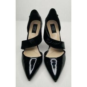 Jones New York Black Pointed Toe Heels Shoes 8M